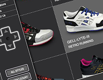 ASICS Sportstyle website