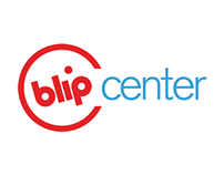 """Blip Center"" Logo"