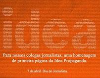 Dia do Jornalista | Idea