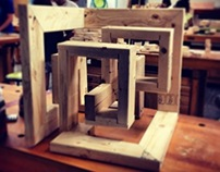 2013: Wood cube