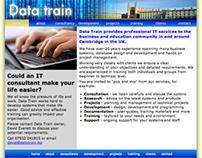 Data Train website