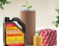 Toyota Genuine Motor Oil Ad