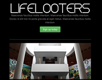 Lifelooters.com Landing Page