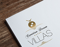 Croatian Dream Villas Logo Design & Website UI Design