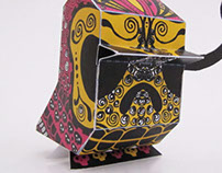 Nani Bird Paper Toy