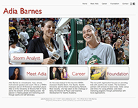 Adia Barnes: Website