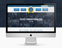 American The NCDD College -  Website Redesign