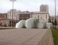 """Cloud"" - city attraction for Warsaw"