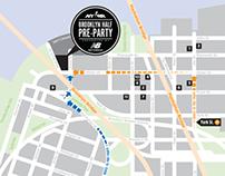 NYRR Brooklyn Half 2013 map series