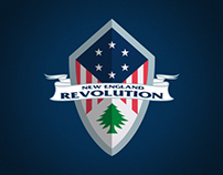 New England Revolution Soccer Team  Mockup