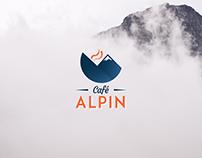 Cafe Alpin Brand Identity