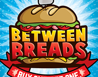 Between Breads Turns Two~ [poster+infographic]