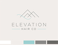 Brand Identity Design for Elevation Hair Co Salon