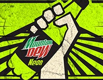 Mountain Dew Neon