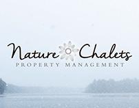 Identidad corporativa Nature Chalets