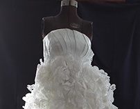 1000 Doilies Paperama Dress