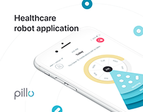 Pillo Healthcare App for Medicare Robot