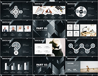 27+ gray business analysis PowerPoint template