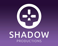 Shadow Productions logo design
