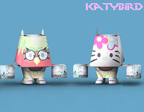 "Mix Character series ""Katy Bird"""