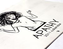 Apathy 2011 calendar