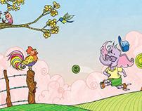 Children's book / Lino