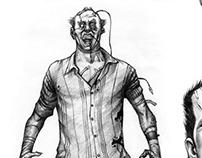 Characters comics