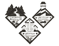 Clinton River Watershed Logo Concepts