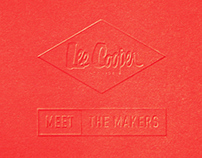 Lee Cooper — Meet The Makers Identity & Microsite 2013