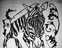 """Zigzag Animals """"Spider Season"""""""