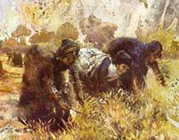 0022 Oil on Canvas  65X45 cm