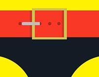 Flat Belts Superheroes