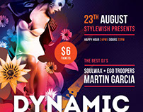 Dynamic Beats Flyer