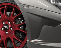 Lamborghini Gallardo Squadra Corse on BBS Wheels