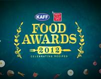 NDTV GOODTIMES Food Awards 2012 Title  Animation