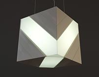 Концепция подвесного светильника «Трансфокуб»
