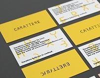 Carattere / personal identity