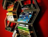 KOLLECT (dvd/cd Shelf + Clock)