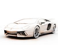 Lamborghini Aventador Illustration