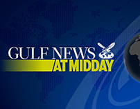 GULF NEWS AT MIDDAY Intro & Graphics
