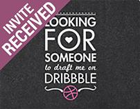 Dribbble Invite Request