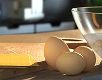De Cecco Lasagne /// 3D Creative Visual and Advert