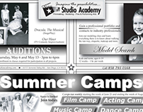 The Studio Academy Promotional Materials