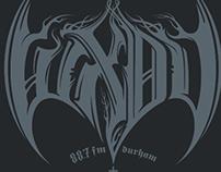 WXDU / 'Black Metal' T's