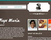 Kape Maria Website