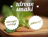 """""""Zdrowe smaki"""" food&health magazine"""