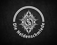 Logo Design - Die Heldenschmiede