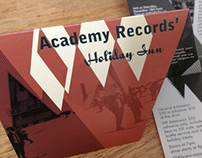 Academy Records' Holiday Inn invitation