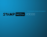 STAMP MEDIA VOICES iPad app concept