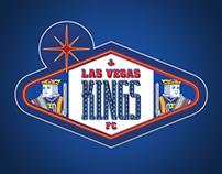 Las Vegas Kings FC Soccer Team Mockup